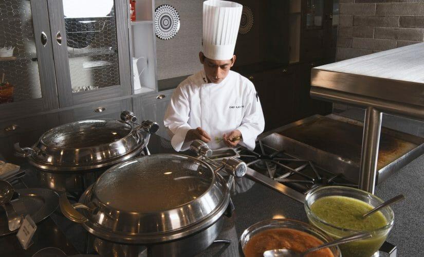 Le métier de maître saucier